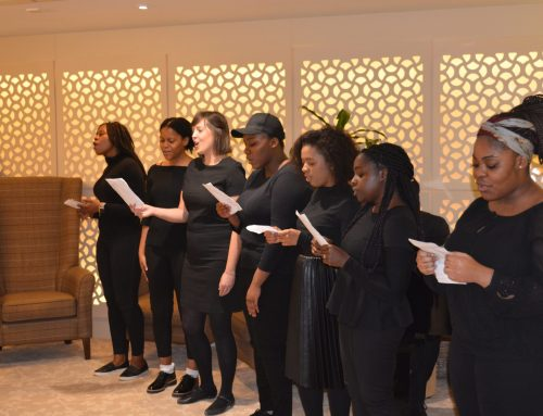 Music and dementia care: Green Tree Court receives a visit from a local gospel choir