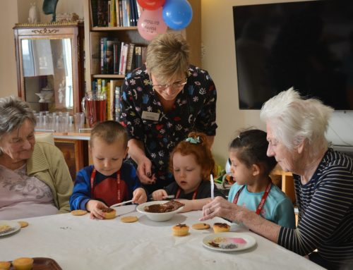 The benefits of children visiting care homes