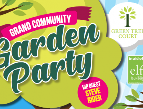 Grand Community Garden Party is happening!